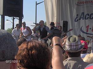 Grupo Manía - Grupo Mania performing in 2011.