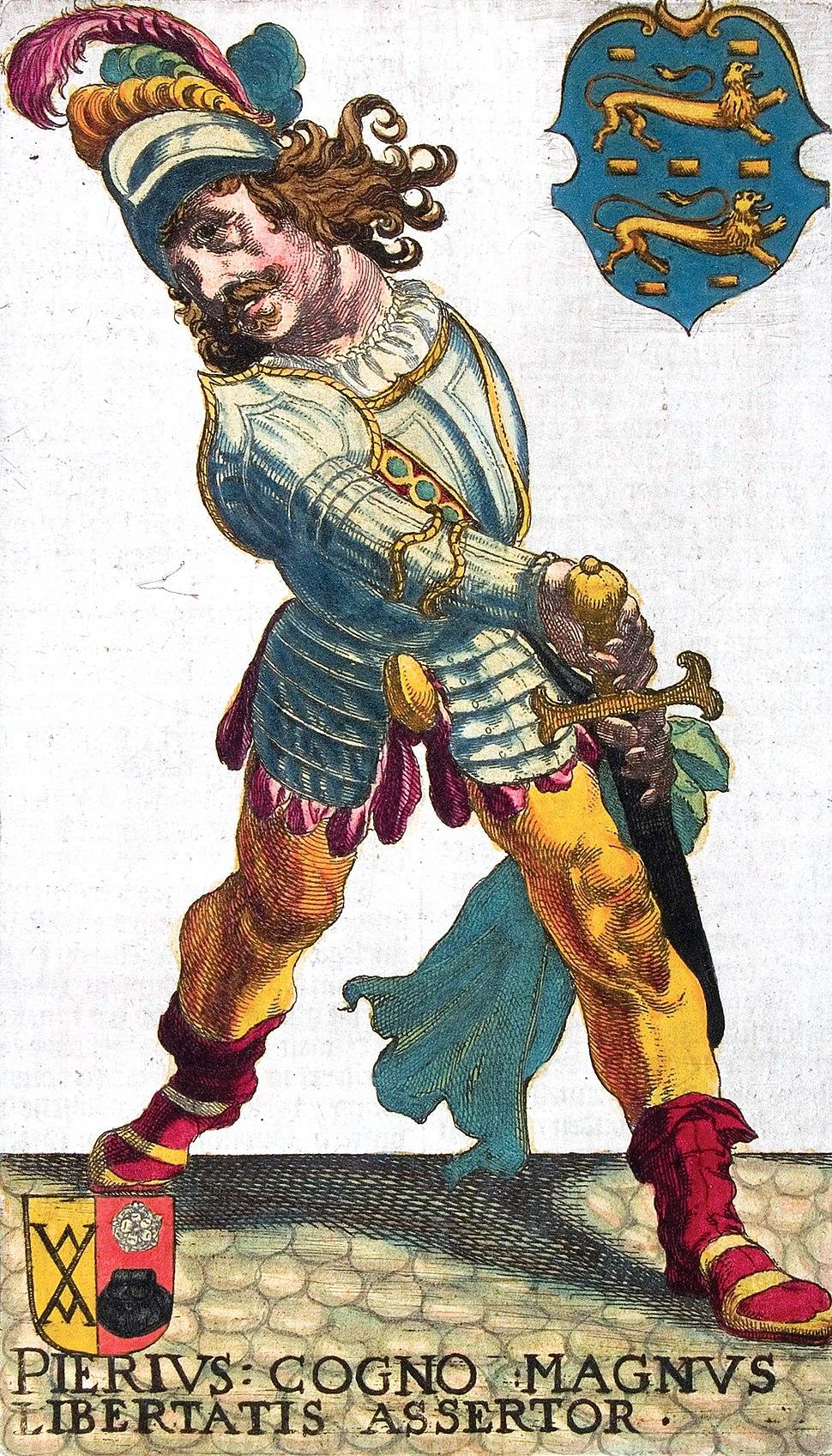 Grutte Pier (Pier Gerlofs Donia), 1622, book illustration