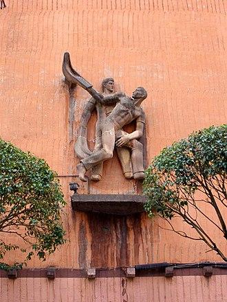 Jai alai - Guernica Fronton, Basque Country, Spain