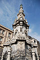 Guglia obelisk (Guglia dell'Immacolata) in Piazza Gesu Nuovo. Naples, Campania, Italy, South Europe.jpg