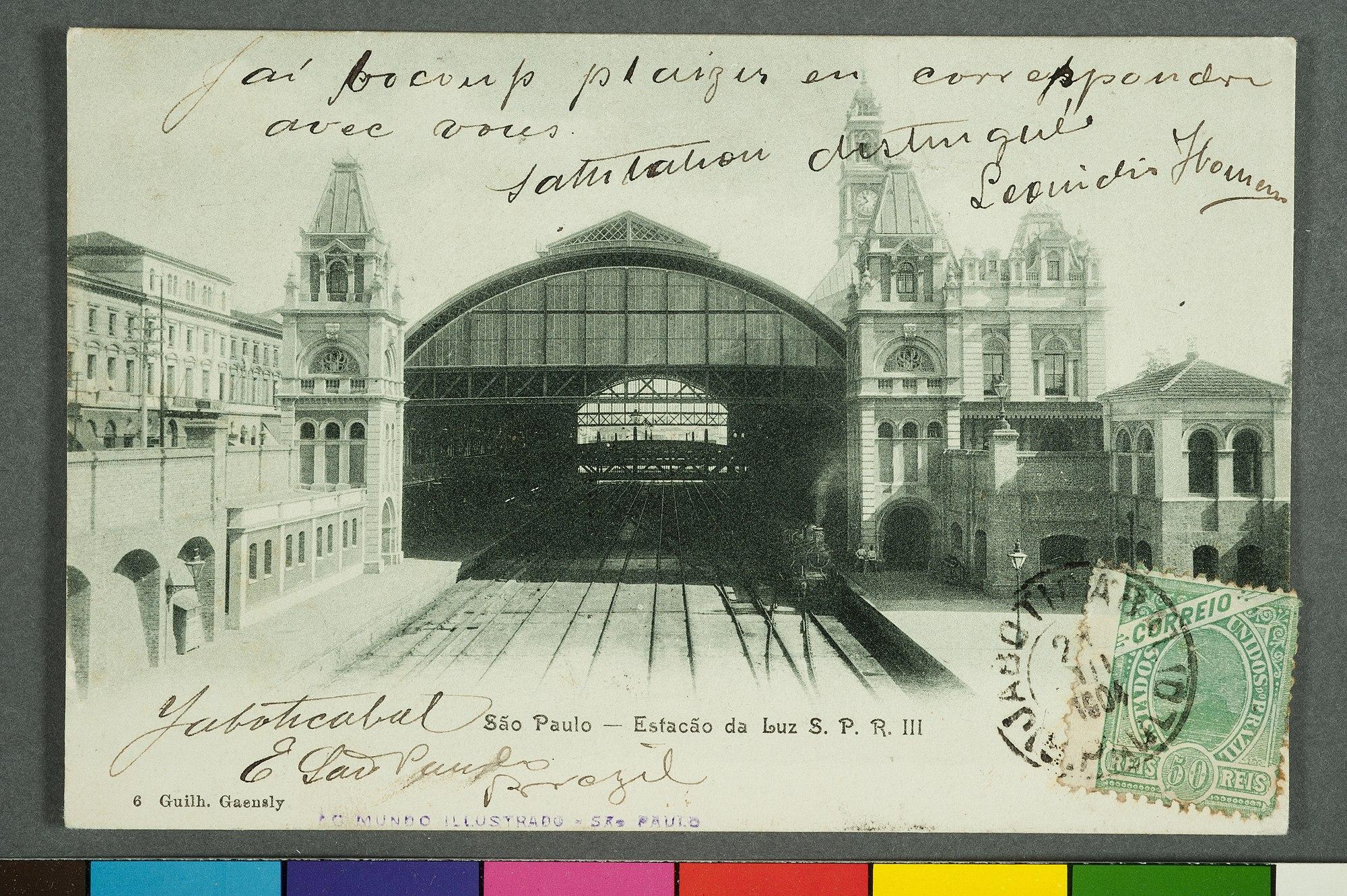 São Paulo - Estação da Luz S.P.R. III