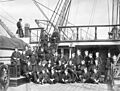 Gun room group aboard HMS Zealous 1869.jpg