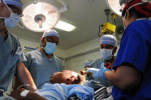 Sanjay Gupta - Image: Gupta Ford Vinson surgery