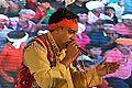 Gursewak Singh Performing - Evening Function - Rawatpura Sarkar Ashram - Chitrakoot - Satna 2014-07-05 6887.JPG