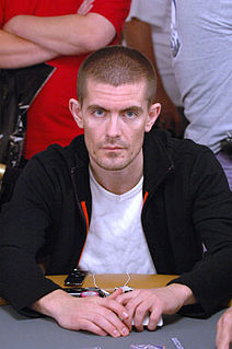 Gus Hansen Danish poker player