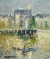 Gustave Loiseau Le Pont de Moret sur Loing 1927.jpg