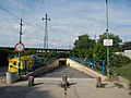 Gyömrő train station, underpass (N) in Hungary.jpg