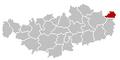 Hélécine Brabant-Wallon Belgium Map.png