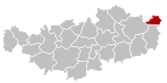 Hélécine - Image: Hélécine Brabant Wallon Belgium Map