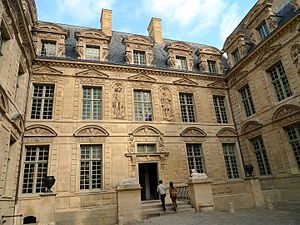 ESCP Europe - Image: Hôtel de Sully 02