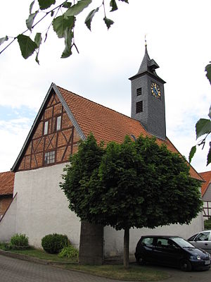 Sibbesse - Protestant church in Hönze.