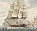 H.M.S. Barham quitting Constantinople With Sir Stratford Canning on bd. 12th August 1832 RMG PY0777 (cropped).jpg