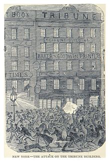 HEADLEY(1882) -p170 New York - the attack on the Tribune building.jpg