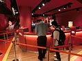 HK Victoria Peak Tower mall shop Madame Tussads Wax museum ticket counter n visitor May-2014.JPG