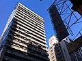 HK YTM Yau Ma Tei 471-469 Nathan Road 新光商業大廈 Sunbeam Commercial Building facade n shop sign Jan-2014.JPG