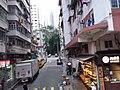 HK tram 7 view 港島東區 Eastern District 西灣河 Sai Wan Ho 筲箕灣道 Shau Kei Wan Road March 2021 SSG 06.jpg