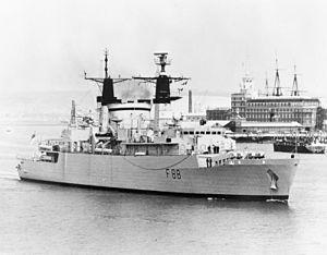 HMS Broadsword (F88) - HMS Broadsword, 1982 (IWM)