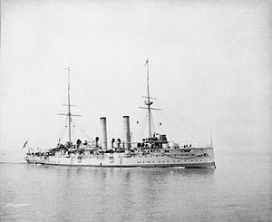 James Erskine (Royal Navy officer) - The cruiser HMS ''Crescent'', Erskine's flagship as Commander-in-Chief, North America and West Indies Station
