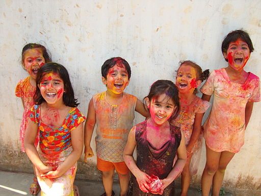 HOLI IN INDIA - ENJOYED BY ALL
