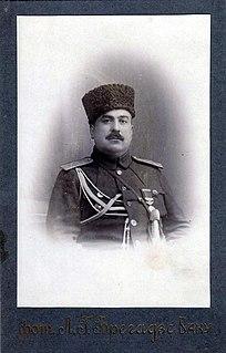 Habib Bey Salimov Azerbaijani general