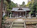 Haiden of Yoshida-jinja shrine,Shichigahama town.JPG