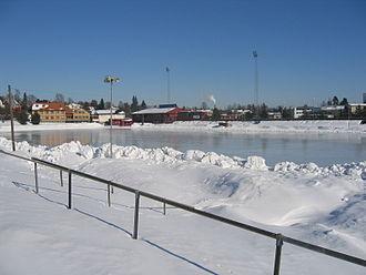 Hamar stadion - Image: Hamar Stadion 13.03.2006