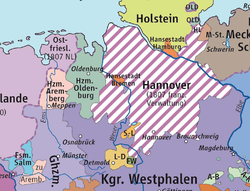 The Duchy of Arenberg in 1807