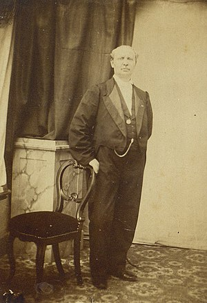 English: Hans Christian Lumbye (1810-1874), Da...