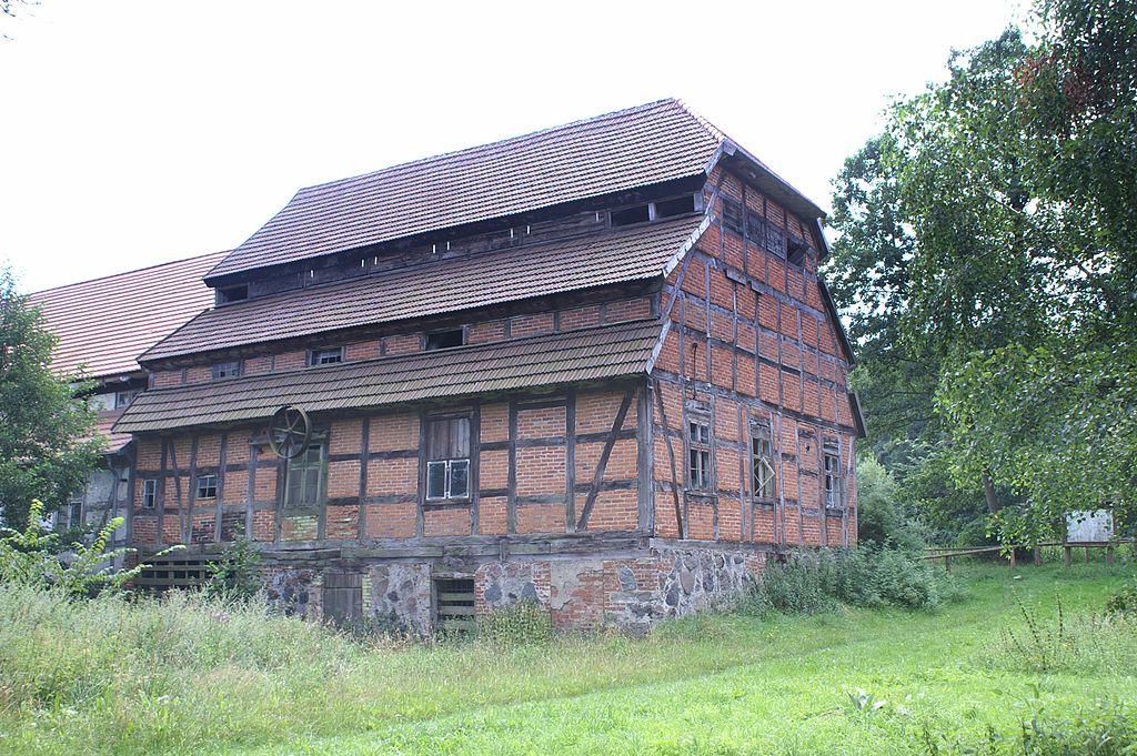 Papiermühle - Wassermühle Hanshagen (Quelle wikimedia)