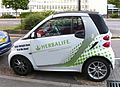 Harbalife branded car.JPG
