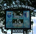 Harlaxton Sign.JPG