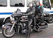 Motosikal Harley-Davidson Electra Gilde.