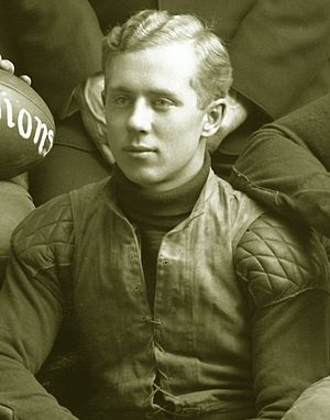 Harry James (American football) - Harry James cropped from 1903 Michigan football team photograph