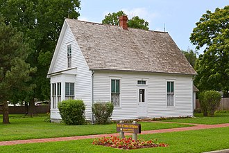 Harry S. Truman - Truman's birthplace and childhood home in Lamar, Missouri