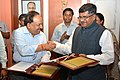 Harsh Vardhan and the Union Minister for Communications & Information Technology and Law & Justice.jpg