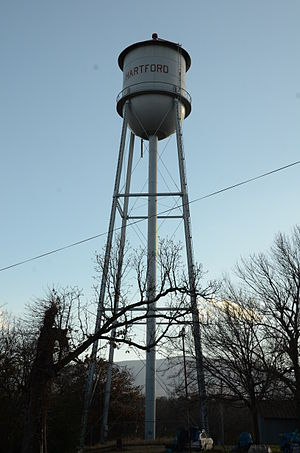 Hartford Water Tower - Image: Hartford Water Tower