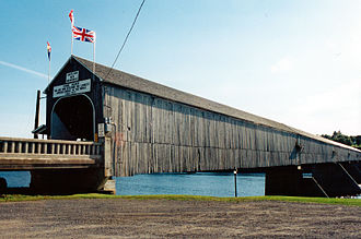 Hartland Bridge - Hartland Covered Bridge