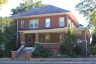 Harvey Jeremiah Peeler House - Image: Harvey Jeremiah Peeler House (101 S. Ridge Ave.) side view
