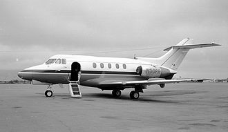 British Aerospace 125 - Hawker Siddeley DH-125 Series 400A in San Francisco, United States, 1971