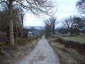 Heading into the Hamlet of Rowland - geograph.org.uk - 1746622.jpg