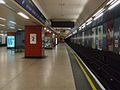 Heathrow Terminals 1, 2, 3 stn eastbound look west.JPG