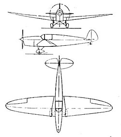 Heinkel He 71 B 3-view L'Aerophile May 1933.jpg