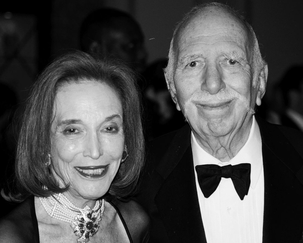 Helen Gurley and David Brown