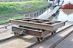 Hellingwagen van de helling van Klop Watersport (ex Jochem Smit) in Hardinxveld.JPG
