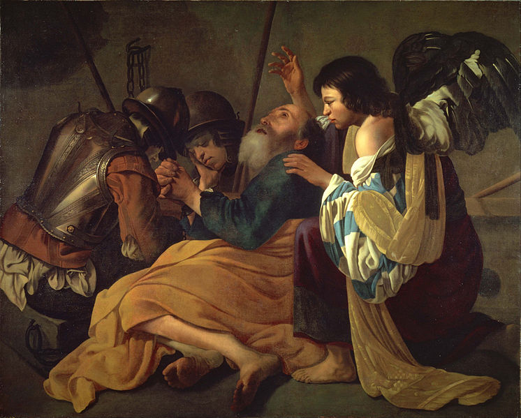File:Hendrick Terbrugghen (follower of) - The Liberation of St. Peter - Google Art Project.jpg