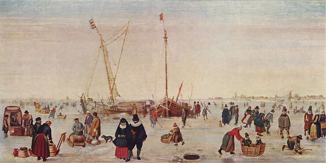 Hendrik Avercamp, Scene on the Ice