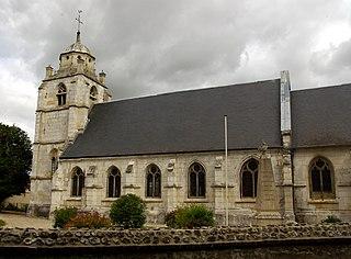 Hénouville Commune in Normandy, France