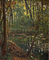 Henri Biva, Pond in a forest, oil on canvas, 61 x 50.3 cm.jpg