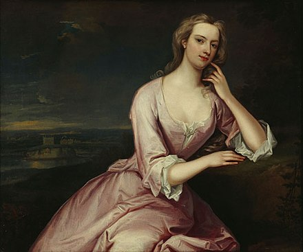Henrietta Howard, Countess of Suffolk (pictured) was one of Caroline's Women of the Bedchamber in addition to being one of Caroline's husband's mistresses. Henrietta Howard.jpg
