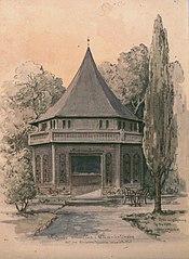 Frizners Paviljong, Studenterlunden.